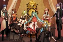 Vocaloid Family ボカロイドの家族 XD / Fun fact : this is a very large family. VERY LARGE. XD