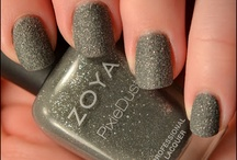 Zoya PixieDusts / These are my swatches of the Zoya PixieDust Collections (textured polish).
