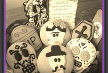 Halloween~Dia de Muertos / CaboCakery Cookies