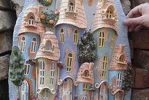 Casas de hadas fachadas