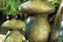 pedras e conchas