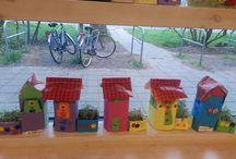 Evim ve bahçem sanat etkinliği
