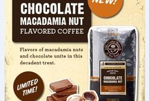 Chocolate Macadamia Nut Coffee / Flavors of macadamia nuts and chocolates unite in this decadent treat!