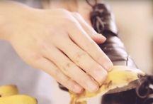 Bananen Schale