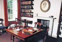 Writer's Rooms / The writing rooms of famous writers