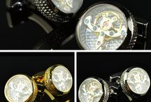 Cufflinks & TieClips / Elegance is a matter of details! Add cufflinks and Tie Clips to your outfit!