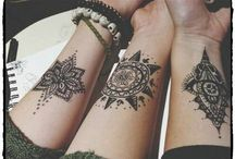 Geschwister Tattoos