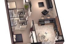 apartment / house sharing floor plans