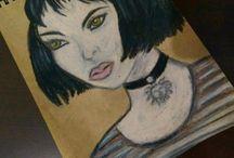 My Art / Drawing , illustration , resim fikirleri , çizim , akrilik