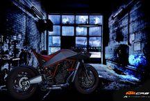 KTM CR8 Cafe Racer / KTM CR8 Cafe Racer by Mirco Sapio