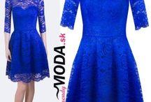 Spoločenské šaty - jeseň - zima 2016/17