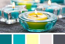 mooie kleurcombinaties / De combinatie van de plaatjes en de kleuren spreekt me erg aan