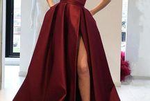 Prom dress strapless