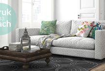 Druk na materiałach dekoracyjnych / Wzory na materiałach, którymi sam możesz manipulować, tylko u nas! Zrób to sam. Podkreśl swoje wnętrze elementami dekoracyjnymi.