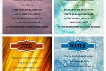 elements(Water,Fire,Air,Earth)