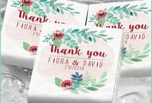 Wedding favour personalized