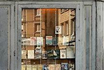 Bøker, bibliotek og bokhandlere