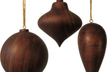 Julepynt / christmas ornaments wood