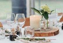 ECOYA Weddings / Candles are a must atop a wedding table and make for a perfect gift for guests. www.ecoya.com