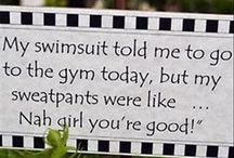 Ode to Swimsuits / Ode to swimsuits. Because it helps to laugh...