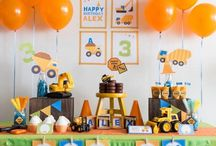 Under Construction: Lincoln's 2nd birthday / by Callie Hays