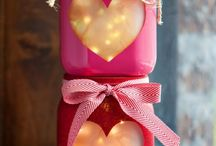 Valentine's Day / Idea's for Romantic Dinners, Crafts, gifts and more!