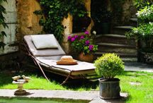 Decorating Outdoor Spaces / by Claire Perky