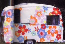 Caravan Love / an inspiration board for revamping my tired adria caravan. / by Hippychick Smith