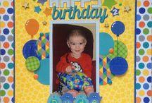 Scrapbook - Birthday