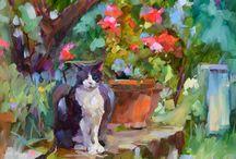 DREAMA TOLLE PERRY / Dreama,es artista y escritora. Pintora autodidáctica y le fascina el color morado o púrpura.