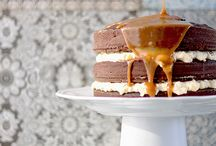 salted caramel cakes / by The Baking Mamma
