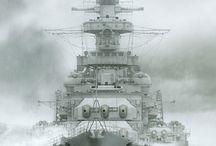 militær skip