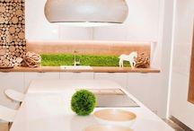 Ściana z roślin w kuchni!