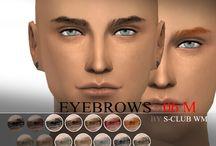 The Sims 4 eyebrows