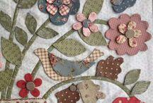 Textile applique, patchwork