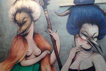 Street Art near & FaR