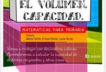 Matemáticas Medidas / Conjunto de juegos, actividades y materiales educativos para el aprendizaje de las Medidas de longitud, capacidad, masa, superficie, volumen, dinerarias, etc..