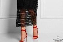 sukienki szydełko