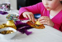 Mardi Gras Party Ideas / Ideas for a family friendly Mardi Gras party or celebration. #mardigras #party #crafts #recipes #DIY / by Tauni Everett (SnapConf)