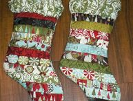 Christmas Stocking Crafts / It just isn't the holidays without Christmas stockings. Now you can make your own with Christmas crochet stocking patterns, knit Christmas stocking patterns, and sewn Christmas stocking patterns. Design them to match your Christmas decorations or give them as a Christmas gift.  / by AllFreeChristmasCrafts