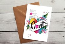Funny Birthday Cards - Mature / Hilarious and funny birthday cards featuring lots of swearing!
