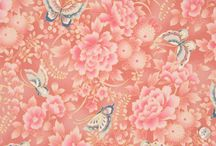 Quilt-Gate HR3950 Cho Cho / Quilt-Gate: Hyakka Ryoran - Cho Cho Collection of Fabrics