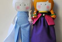 Sewing - tiny dolls