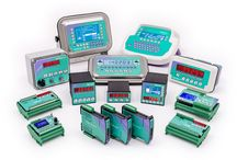 Family products / Load cells, weight indicators, weight transmitters, mounting kits for load cells.