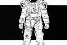 космонавты / космос