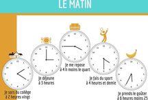 A1 FLE L'heure/Les horaires