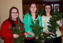 Canadore Students Spreading Seasonal Cheer  / More than 35 Canadore students from a cross-section of programs, who are living in residence, visited Casselholme to spread holiday cheer.   http://canadorenews.ca/newsroom/canadore-students-spreading-seasonal-cheer