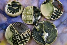 Sharilyn Miller Ceramic Beads / Ceramic beads and buttons handmade by Sharilyn Miller.