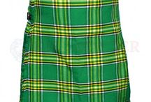 #IrishNationalTartanKilt