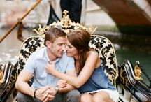 MY WORK - Engagement anniversary in Venice Italy